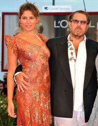 Stella Schnabel and Julian Schnabel at the premiere of