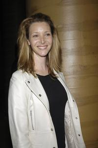 Lisa Kudrow at the opening celebration of Gregory Colbert's