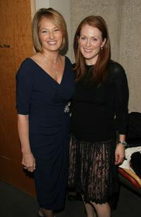 Ellen Barkin and Julianne Moore at the screening of
