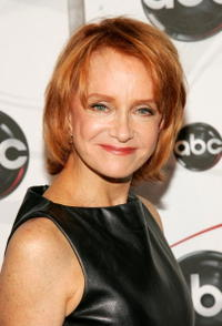 Swoosie Kurtz at the ABC Upfront presentation at Lincoln Center.