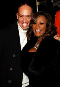Robert Verdi and Patti LaBelle at the Zang Toi Fall 2007 fashion show during the Mercedes-Benz fashion Week.