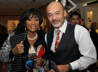 Patti LaBelle and Christian Louboutin at the Fall Collection presentation.
