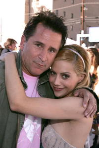 Anthony LaPaglia and Brittany Murphy at the after party for the premiere of
