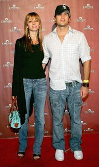 Rachel Perry and Nick Zano at the grand opening of the Empire Ballroom.