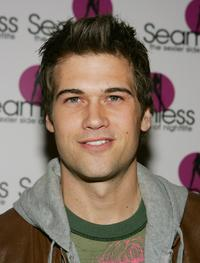 Nick Zano at the grand opening of Seamless Adult Ultra Lounge.