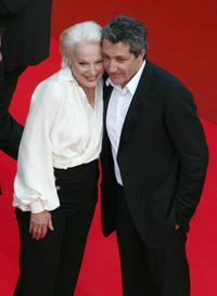 Bernadette Lafont and Alain Chabat at the 60th International Cannes Film Festival.