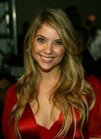 Ashley Benson at the Dina Bar-El Fall 2007 fashion show during the Mercedes Benz Fashion Week.
