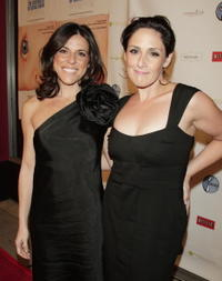 Ricki Lake and Abby Epstein at the premiere of
