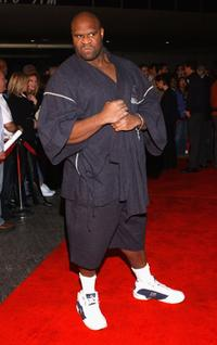 Bob Sapp at the premiere of