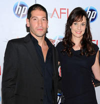 Jon Bernthal and Sarah Wayne Callies at the Eleventh Annual AFI Awards.