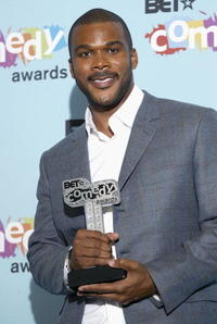 Tyler Perry at the 2005 BET Awards in Pasadena, CA.