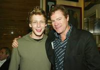 Johnny Lewis and David Keith at the after party of the premiere of