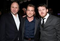 Bob Berney, Peter Billingsley and Keir O'Donnell at the premiere of