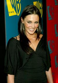 Taylor Cole at the WB Networks 2004 All-Star Winter party.