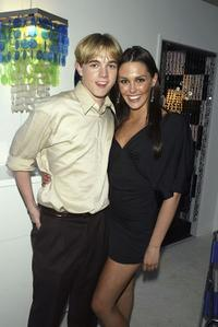 Jesse McCartney and Taylor Cole at the WB Television Network's All-Star Winter TCA party.