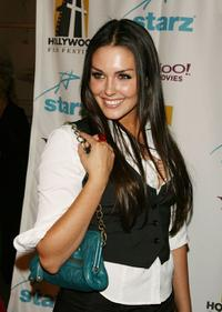 Taylor Cole at the Hollywood Film Festival's opening night gala premiere of