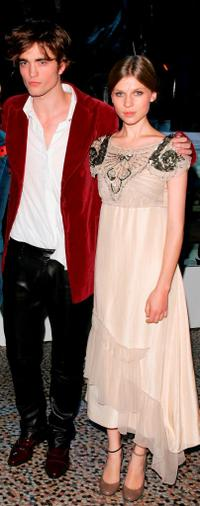 Robert Pattinson and Clemence Poesy at the party of the world premiere of