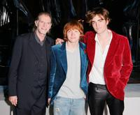 David Bradley, Rupert Grint and Robert Pattinson at the party of the world premiere of