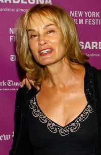 Jessica Lange at the New York Film Festival.