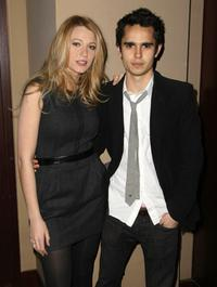 Blake Lively and Max Minghella at the after party of the private screening of