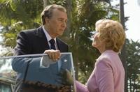 Frank Langella as Richard Nixon and Patty Mccormack as Pat in