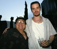 Danny DeVito and Mike Patton at the after party of the premiere of