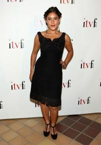 Q'orianka Kilcher at the premiere of