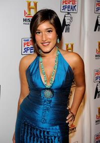 Q'orianka Kilcher at the New York premiere of