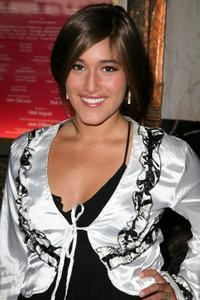 Q'orianka Kilcher at the Los Angeles premiere of