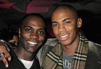 Nashawn Kearse and Mehcad Brooks at the Cosmopolitan Magazine's celebration.