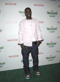 Nashawn Kearse at the unveiling of New Heineken Premium Light.