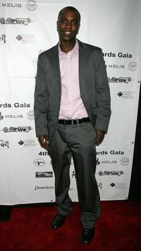 Nashawn Kearse at the 4th annual IndieProducer Awards gala.