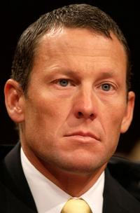 Lance Armstrong at the Senate Hearing On Cancer.