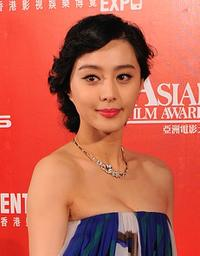 Fan Bingbing at the Asian Film Awards 2009.