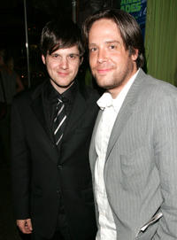 Michael Esper and Zak Orth at the after party of the opening night for the Broadway play