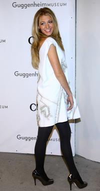 Blake Lively at the Solomon R. Guggenheim Young Collectors Council Artist's Ball.