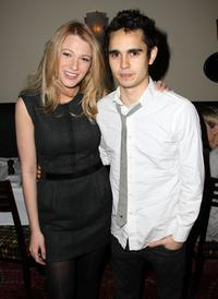 Blake Lively and Max Minghella at the private screening of