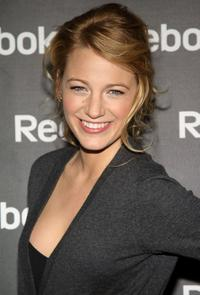 Blake Lively at the Reebok