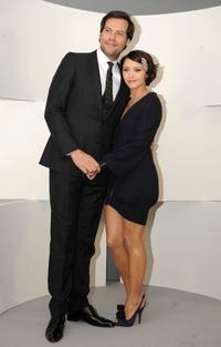 Laurent Lafitte and Emma De Caunes at the 35th Cesars French Film Awards Ceremony.