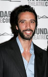 Carlos Leon at the Opening night of the Broadway production of