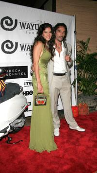 Patricia Velasquez and Carlos Leon at the third annual fundraising gala for
