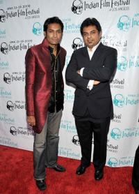 Samrat Chakrabarti and director Joseph Mathew at the 7th Annual Indian Film Festival.