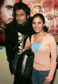 Samrat Chakrabarti and Meetu Chilana at the premiere of