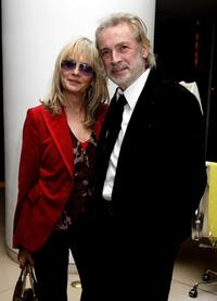 Twiggy and Leigh Lawson at the screening of