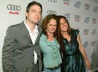 Justin Kirk, Melissa Leo and Tanna Frederick at the world premiere of