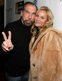 John Paul DeJoria and Eloise DeJoria at the Fortitude Agency party during the 2008 Sundance Film Festival.