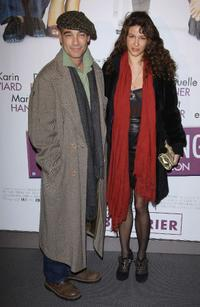 Jean-Marc Barr and Maria Jurado at the Paris premiere of