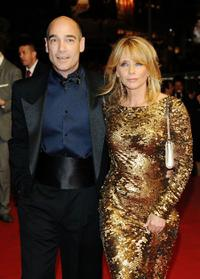 Jean-Marc Barr and Rosanna Arquette at the 62nd International Cannes Film Festival.