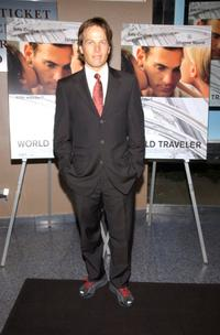 James Legros at the premiere of the
