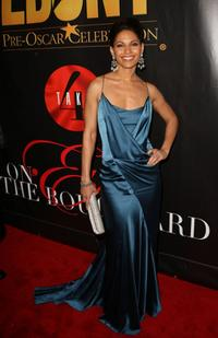 Salli Richardson-Whitfield at the Ebony Magazine Pre-Oscar Celebration-Take 4.